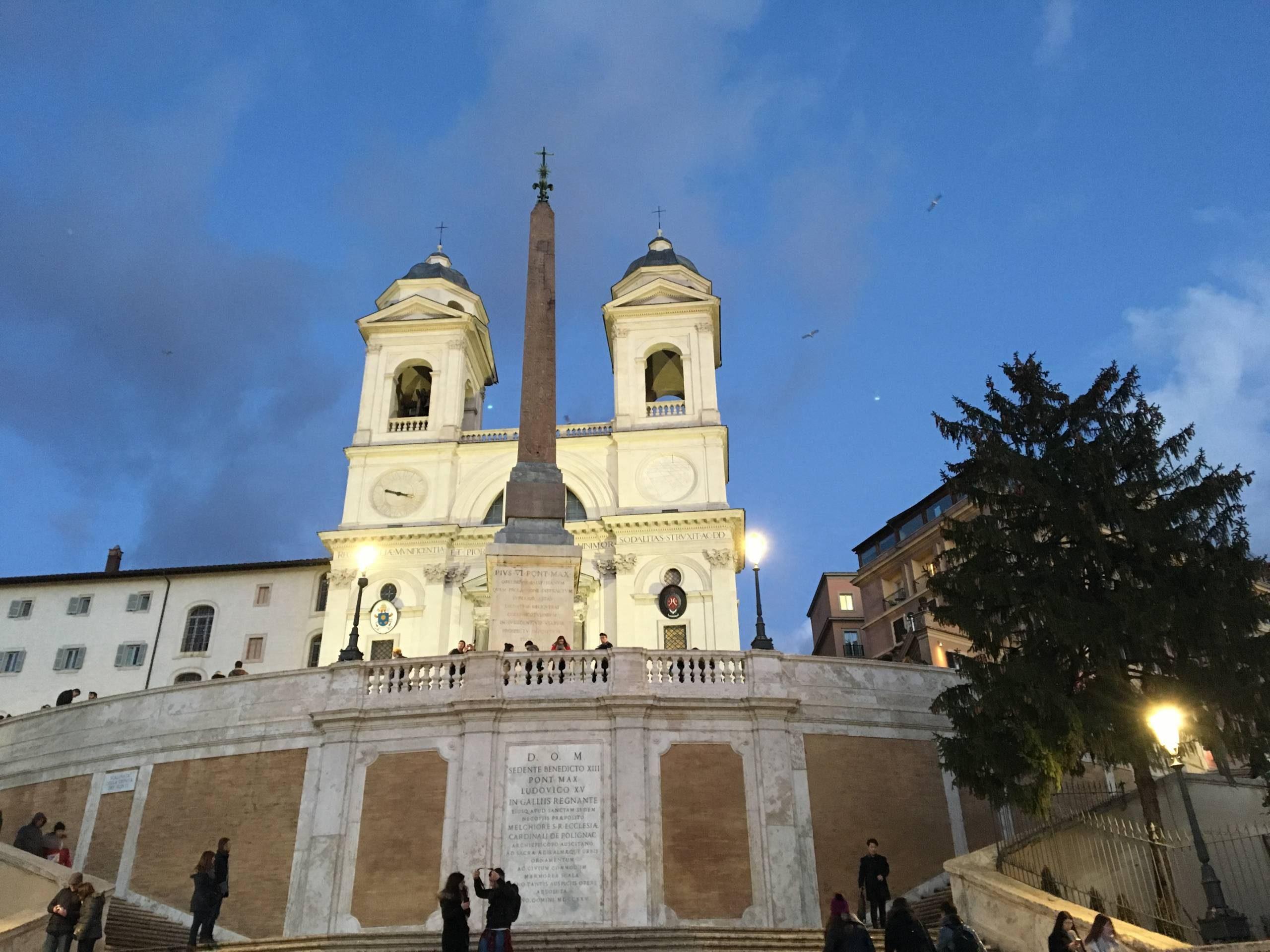 octobre dans le ciel de Rome.