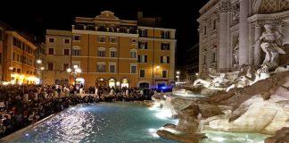 pickpockets fontaine de Trevi Rome.