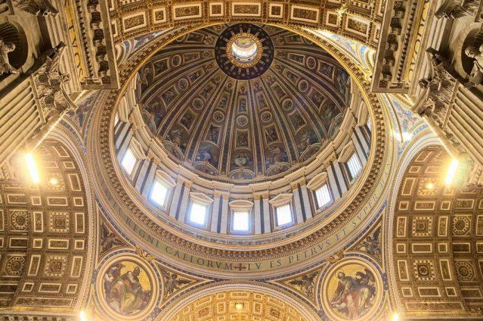 coupole basilique Saint-Pierre Rome Nicolas Vollmer