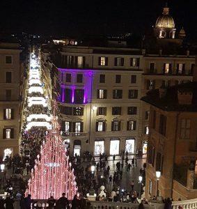 illuminations piazza Spagna