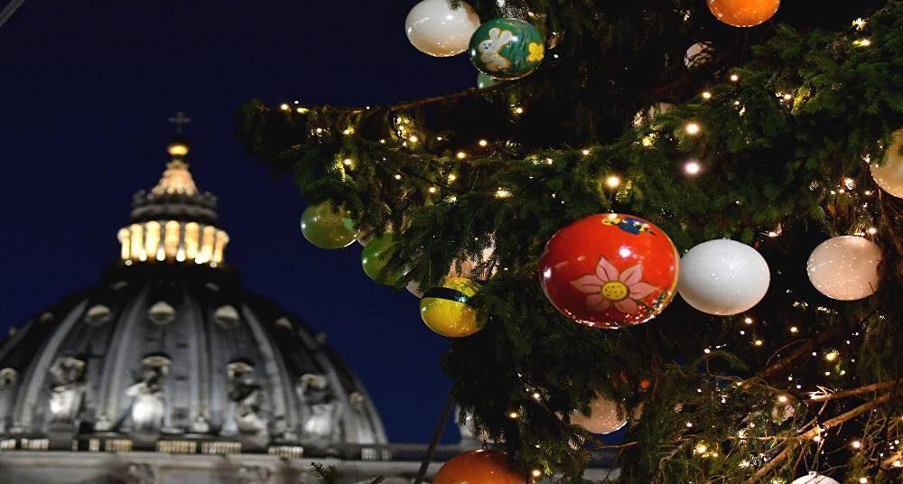 marchés de Noël à Rome.