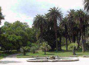 Trastevere jardin botanique Rome.