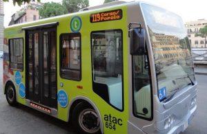 centre historique bus Rome