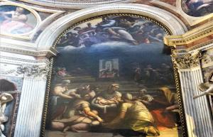 Nativité Vierge Santa maria popolo