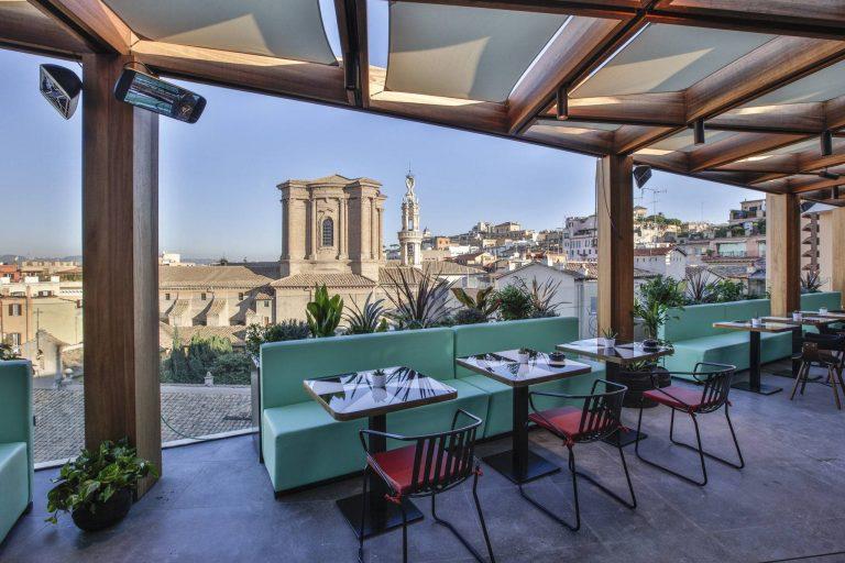 Découvrez Rome depuis un rooftop