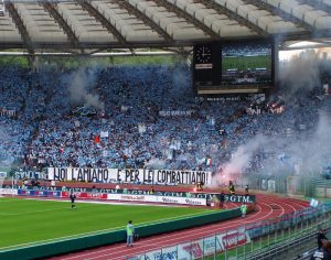 Football supporters SS Lazio
