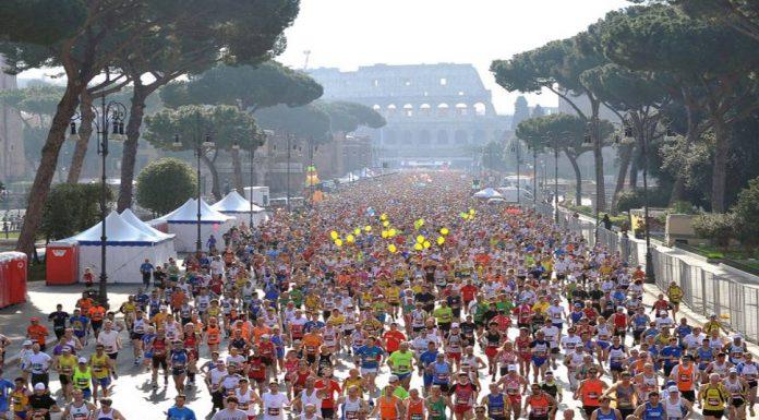 Marathon de Rome 2018.