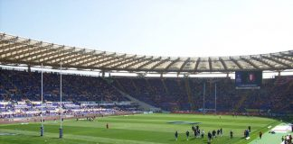 match rugby février Rome