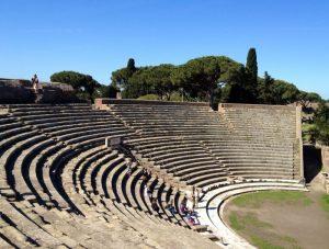 Ostie théâtre antique.