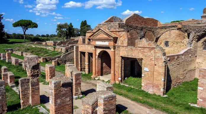 Ruines Ostie.