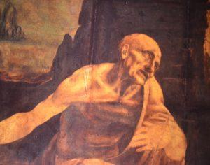 Tableaux saint jerome leonard de Vinci Rome