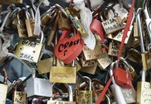 pont cadenas saint-valentin Rome