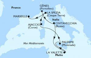 Croisière en Méditerranee Rome.