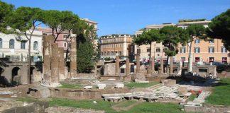Jules César Largo di Torre Argentina Rome.