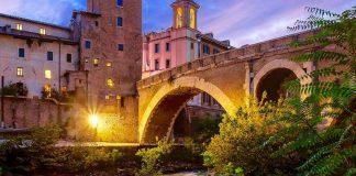 Rome printemps ponte fabricio