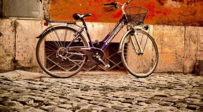 Visiter Rome vélo.