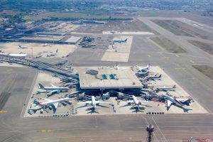 Aéroport Rome Fiumicino.
