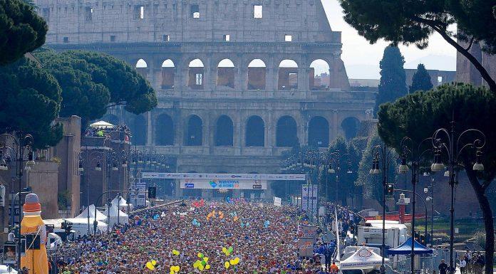depart marathon rome classement
