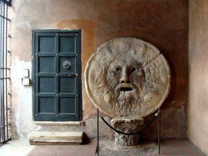 enfants Rome bocca della verita