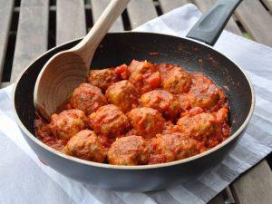 Polpette cours de cuisine Rome.