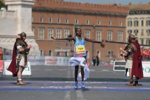 Rahama Tusa classement marathon Rome.