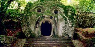 Ogre jardins Bomarzo Rome