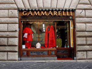 Souvenirs boutique Gamarelli Rome