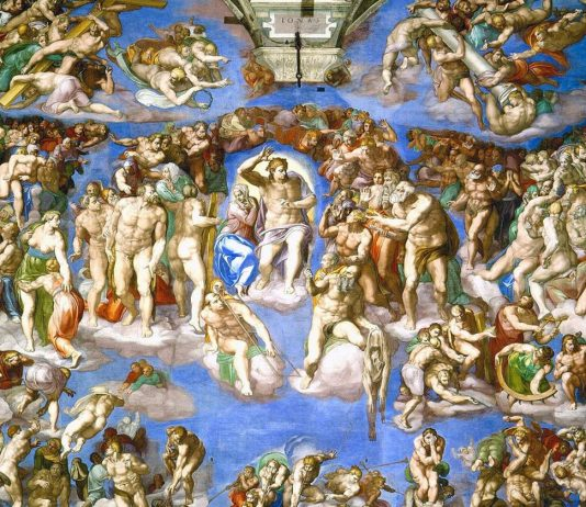 le jugement dernier chapelle sixtine rome vatican