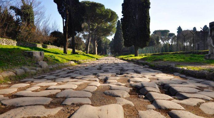 Rome chemins Via Appia Antica