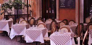 pâtes carbonara restaurant Rome