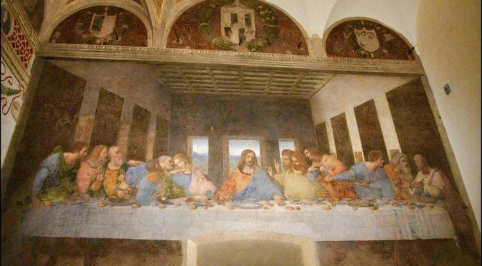 La Cène de Leonard de Vinci gauchers célèbres Rome