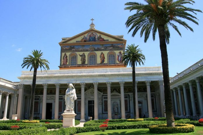 UNESCO saint paul hors le murs Rome