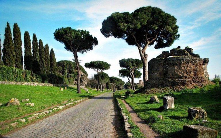 Découvrez la via Appia et le parc des aqueducs à Rome