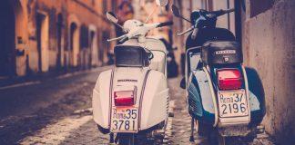 Piaggio-Vespa-Scooter-Rome