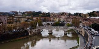 tempête rome inondations