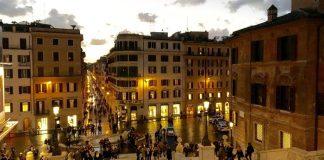 vue de Rome en hiver