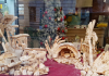 décembre rome crèche noel