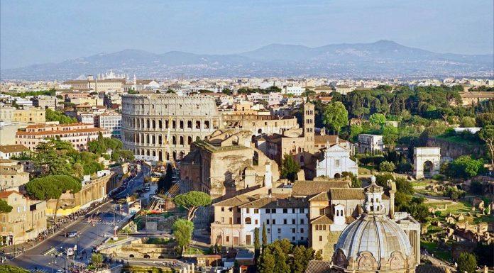 Forum romain et Colisée Rome