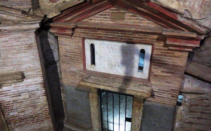 Rome catacombes de Saint-Sébastien