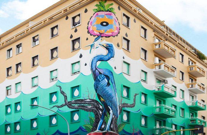 Street Art federico massa rome