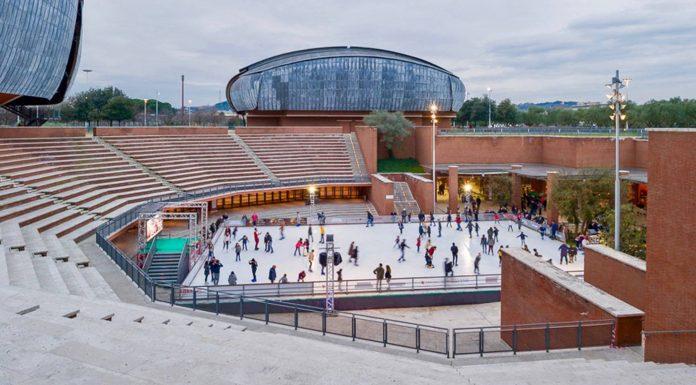 patinoires parco della musica Rome
