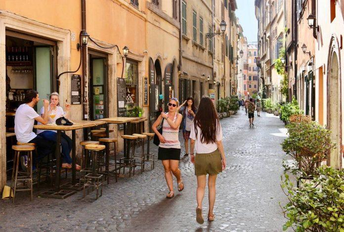 rome août chaleur