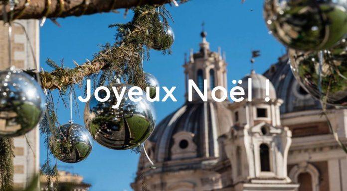 rome decorations joyeux noel 25 décembre