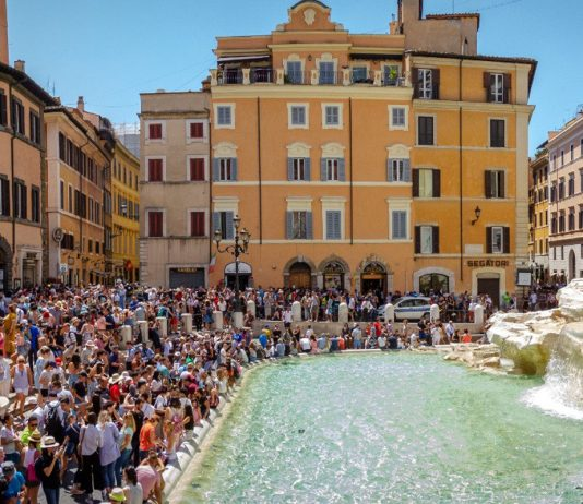 long week-end Rome fontaine trevi