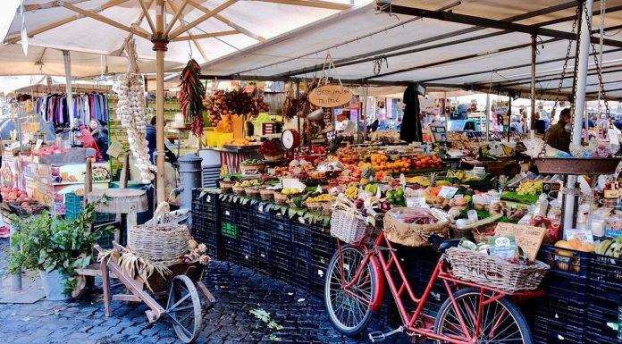 marché campo di fiori Rome