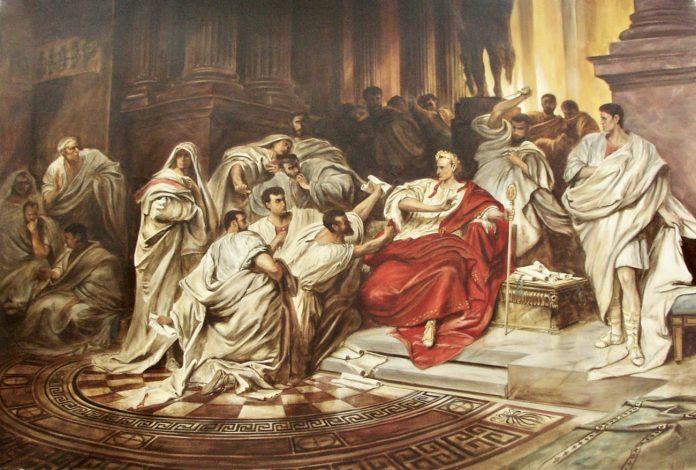 mars assassinat jules cesar rome
