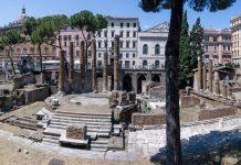 Rome Largo Argentina travaux