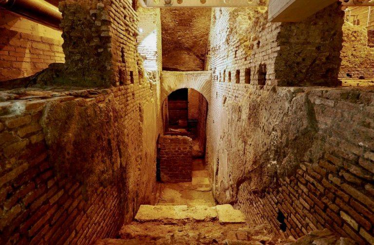 Une visite insolite de la Rome souterraine en famille