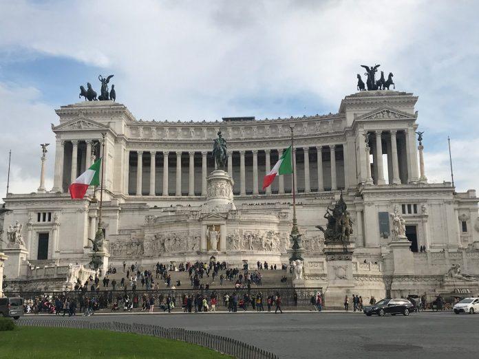 1er mai monument rome