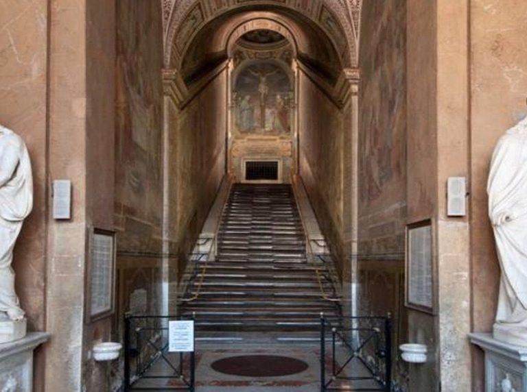 Ouverture exceptionnelle au public de la Scala Santa à Rome